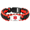 Multi-Color Outdoor Charm Survival Bracelet