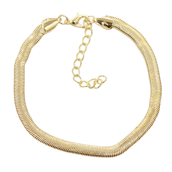 Gold / Silver Chain Link Ankle Bracelet