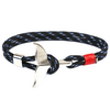 Multi-Color Whale Tail Hook Survival Bracelet
