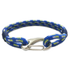 Blue Buckle Paracord Lock Survival Bracelet
