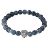 Animal Charm Buddha Men's Beaded Bracelet
