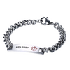 Stainless Armband Medical ID Bracelet