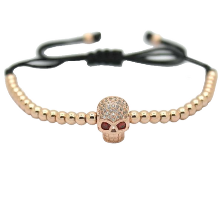 Fierce Skull / Evil Eye Bracelet