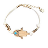 Multi-Color Evil Eye Hamsa Bracelet