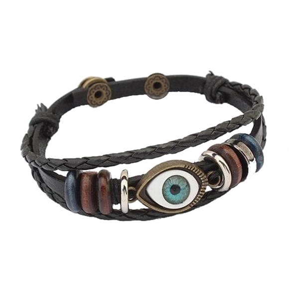 Punk Turkish Evil Eye Bracelet
