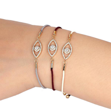 Elegant Multi-Color Evil Eye Bracelet