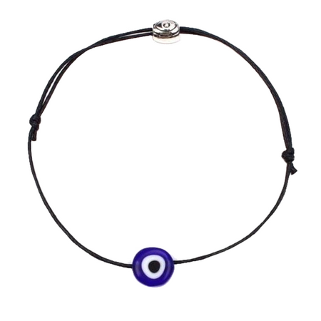 Thin Red Thread Evil Eye Bracelet