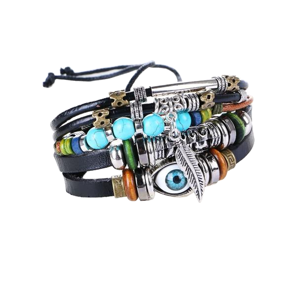 Turkish Ethnic Evil Eye Bracelet