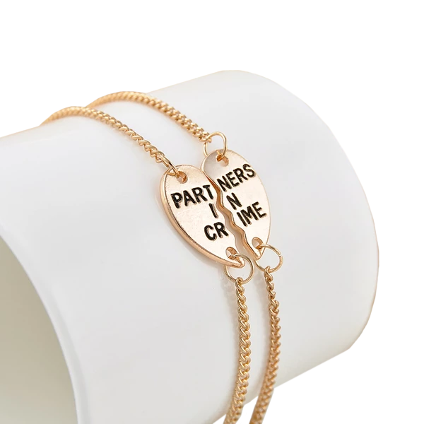 Partner in Crime - Best Friend Bracelet