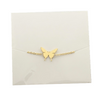 Dainty Butterfly Best - Best Friend Bracelet