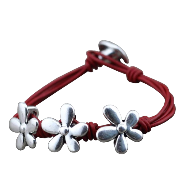 Flower Charm Rope - Best Friend Bracelet