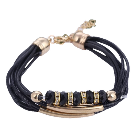 Elegant Leather Women's Bracelet
