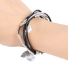 Tibetan Multilayer Silver Bracelet for Women