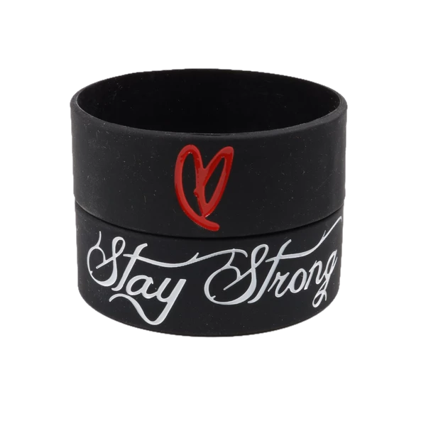 Statement - Rubber Bracelet