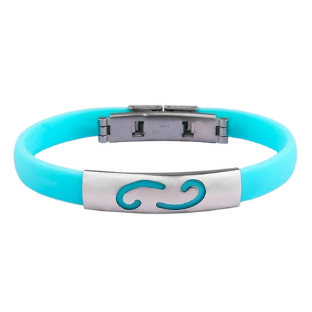 Multi-Color Zodiac Rubber Bracelet