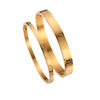 Gold Plated Bangle - Couple Bracelet