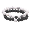 Elastic Stone Beads - Couple Bracelet