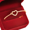 Heart Bangle Love Bracelet