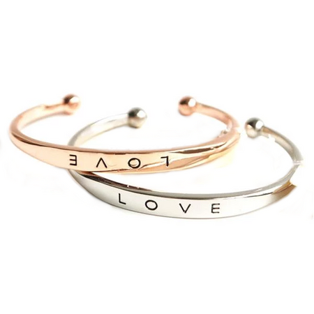 Gold / Silver Plated - Couple Bracelet