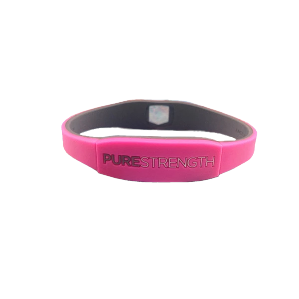 Pure Strength - Rubber Bracelet