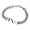 Stainless Steel Jigsaw Puzzle - Couple Bracelet