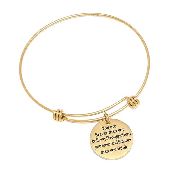 Adjustable Engraved Bracelet