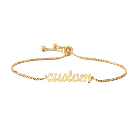 Custom Name - Engrave Bracelet