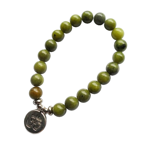 Prayer Bead Jade Bracelet