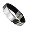 Classical Stainless Steel Engraved Bracelet
