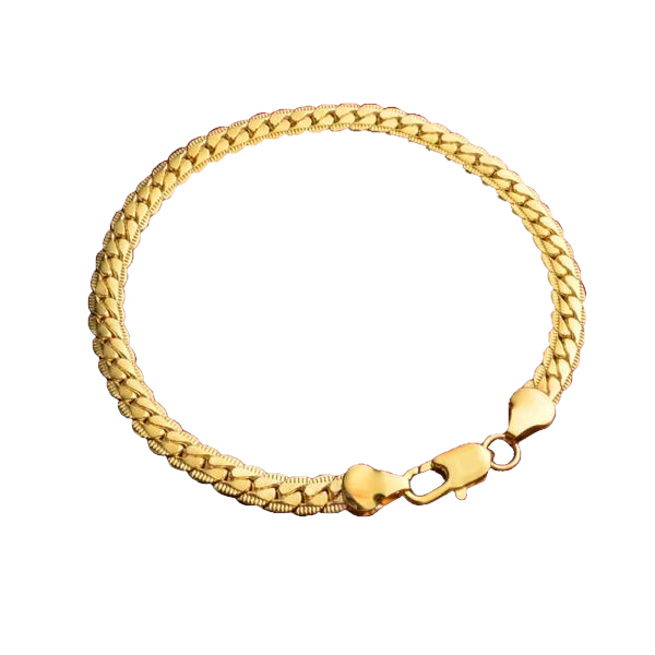 Gold Chain Bracelet for Men