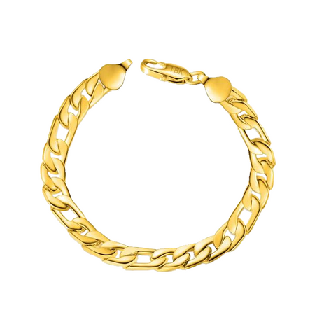 Classic Gold Chain Bracelet for Men