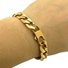 Gold Hip Hop Bracelet for Men 2
