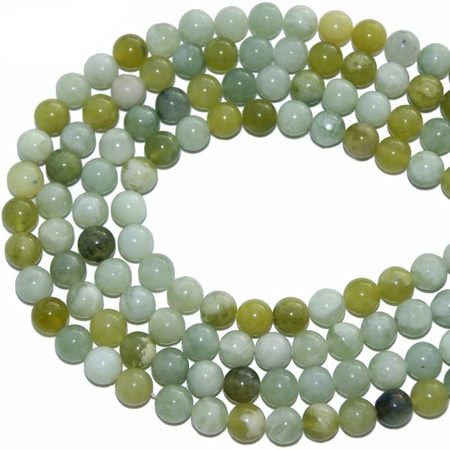 Mixed Green Jade Bracelet