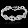 Silver Luxury Crystal Bracelet