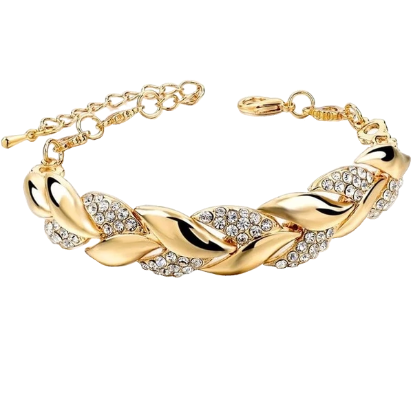 Intricate Gold/Silver Bracelet for Women