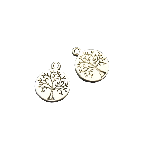 Silver Tree Charms for Bracelet