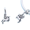 925 Sterling Silver Unicorn Charms for Bracelet
