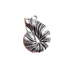 Spiral Shell Charms for Bracelet
