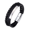 Stylish Bracelet for Men with Magnetic Clasps