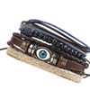 Vintage Multi Layer Evil Eye Bracelet