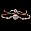 Gold Tennis Bracelet for Women