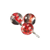 Floral Glass Ball Charms for Bracelets