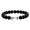 Volcanic Lava Stone Bracelet for Men