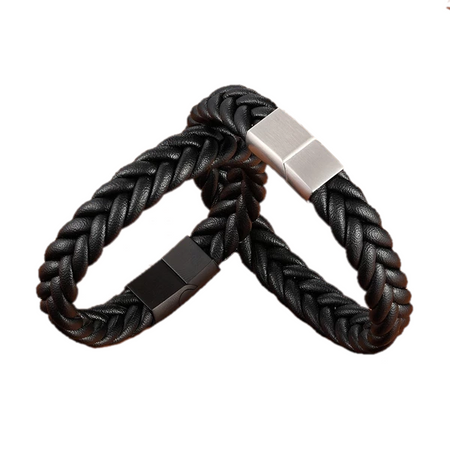 Classic Hand-knitted Style Bracelet for Men