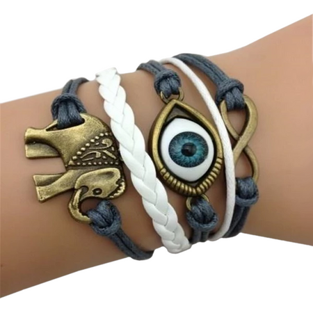 Fashionable Evil Eye Bracelet
