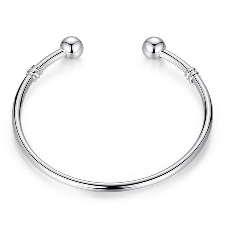 European Bead Charm Bangle Bracelet