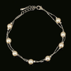 Pearl Bead Fashion Rose Gold Bracelet