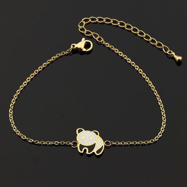 Gold / Silver Panda - Best Friend Bracelet