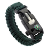 Multi-Color 7 in 1 Multi-functional Survival Bracelet