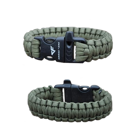 Multi-Color Paracord Survival Bracelet